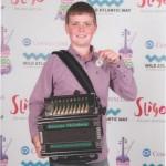 liam 3rd in melodeon fleadh cheoil 2015 Sligo